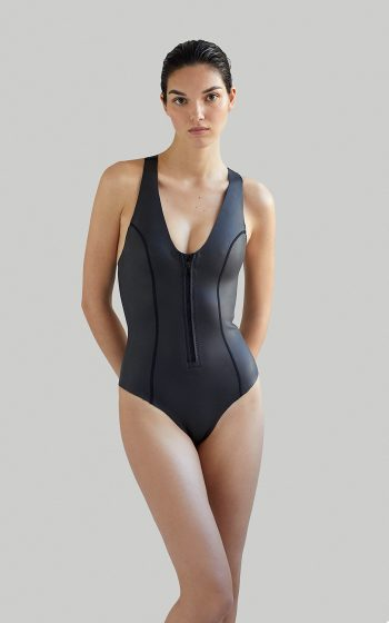 Ethical sustainable Luxury Swimwear / Ropa de baño sostenible, onepiece swimsuit/ bañador ecológico. SYLVIA neopreno ecológico ecopreno NOW THEN