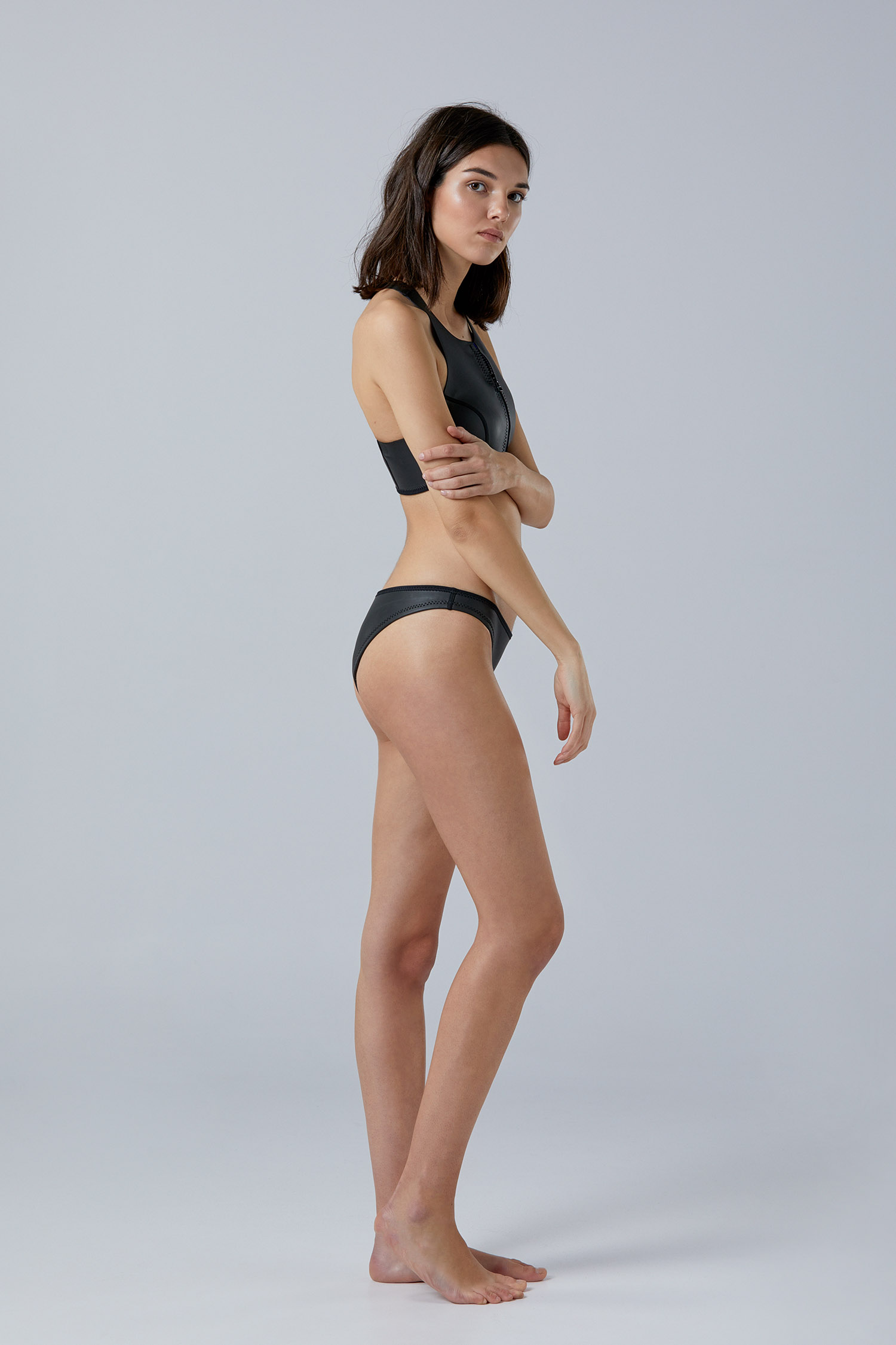 NOW_THEN Margo ecoprene ecofriendly neoprene surf bikini