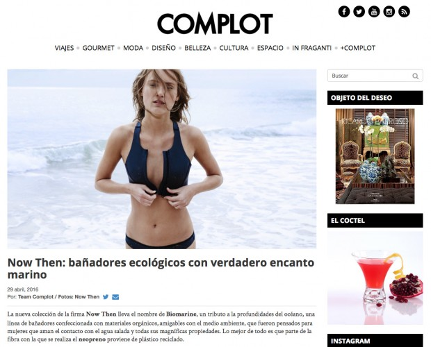 NOW THEN @ Complot Magazine