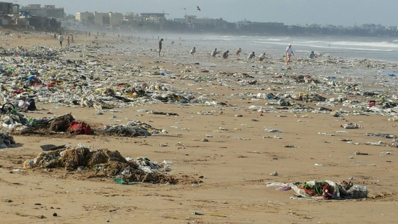Versova Beach of Hope