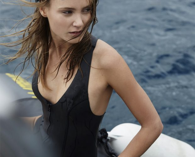 Sylvia Yamamoto Neoprene wetsuit / bañador neopreno, by NOW_THEN