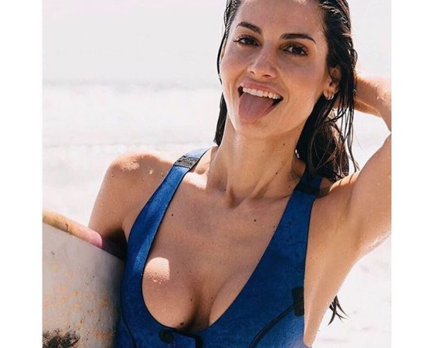 Ariadne Artiles NOW_THEN Sylvia wetsuit neoprene