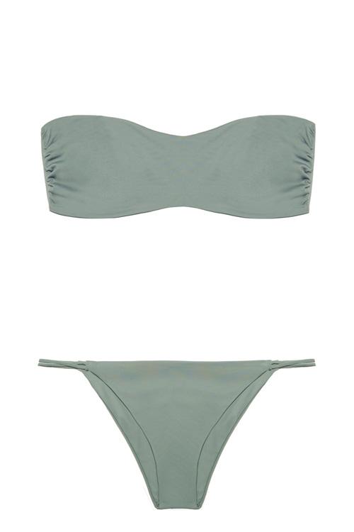 Holbox + Milos Kelp, by NOW_THEN eco swimwear / bikini ecológico