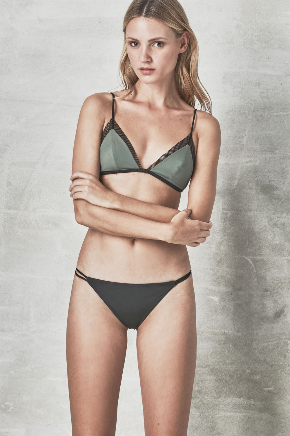 MANA + MILOS kelp, by NOW_THEN eco swimwear / bikini ecológico