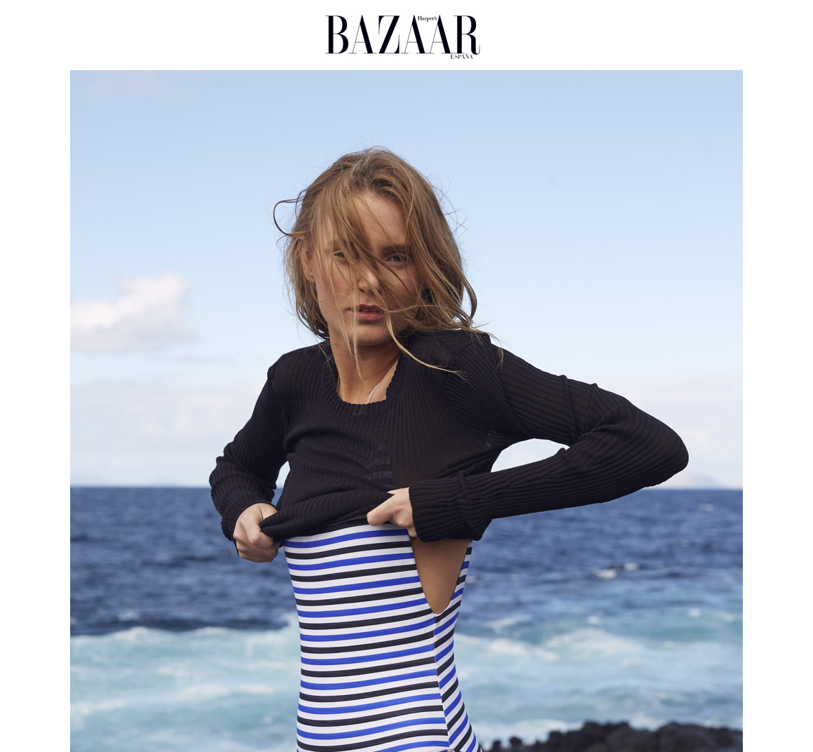 NOW_THEN Harper's Bazaar Alona swimwear