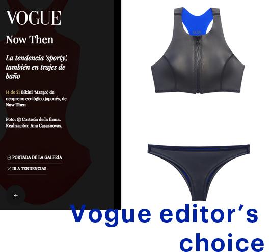 NOW_THEN Vogue Margo bikini neopreno