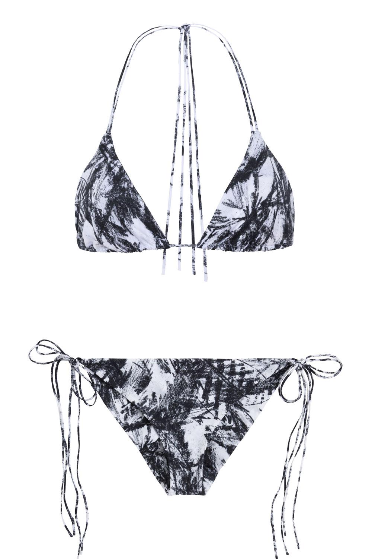 Dreamlands + St.John blackfoliage, by NOW_THEN eco swimwear / bikini ecológico