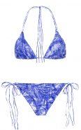 Dreamlands + St. John bluefoliage, by NOW_THEN eco swimwear / bikini ecológico