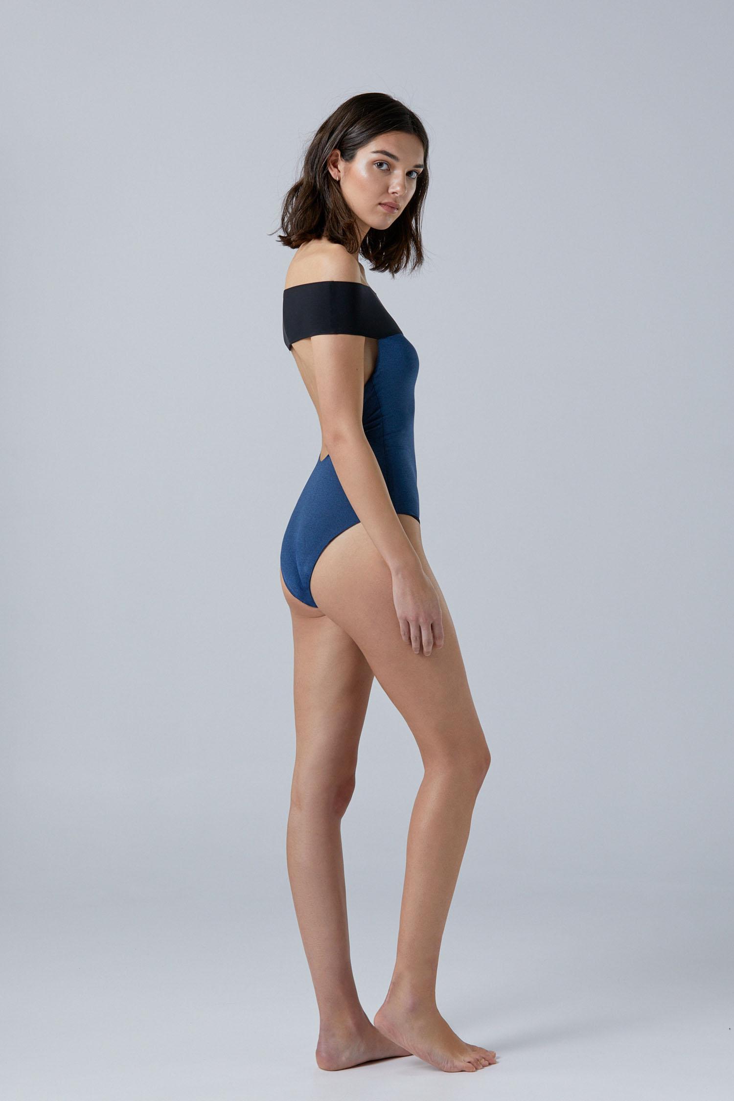 Tombo premium lurex onepiece, by NOW_THEN eco swimwear / bañador ecológico premium lurex