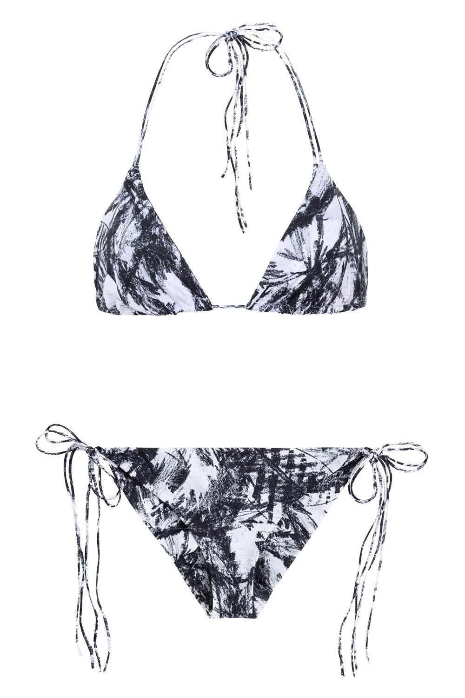 Dreamlands + St. John blackfoliage, NOW_THEN eco swimwear / bikini ecológico