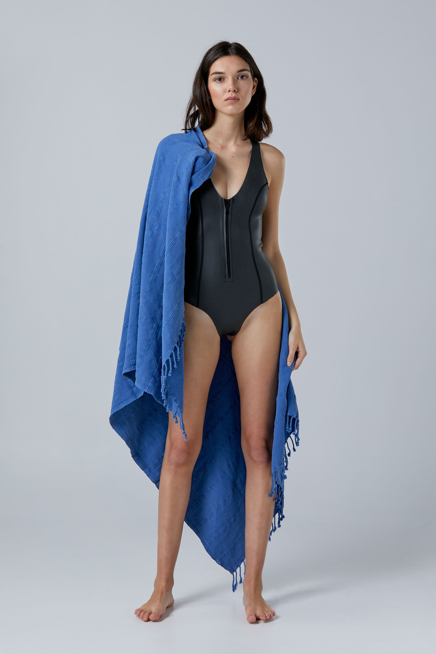 NOW_THEN Sylvia ecoprene wetsuit Ine beach towel