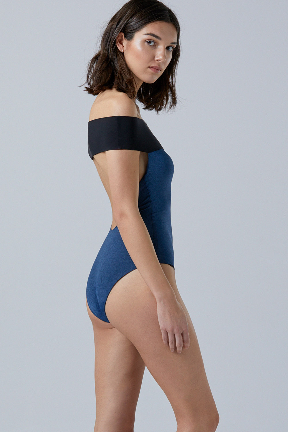 Tombo premium lurex onepiece, by NOW_THEN eco swimwear / bañador ecológico premium lurex