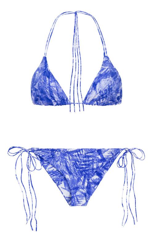 Dreamlands + St. John bluefoliage, NOW_THEN eco swimwear / bikini ecológico