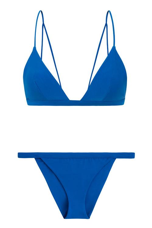 Turks top in pacific, by NOW_THEN eco swimwear / bikini ecológico