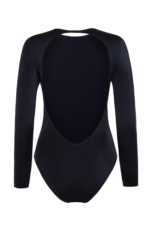 Eugenie onepiece swimsuit onesie full sleeve surf eco recycled econyl