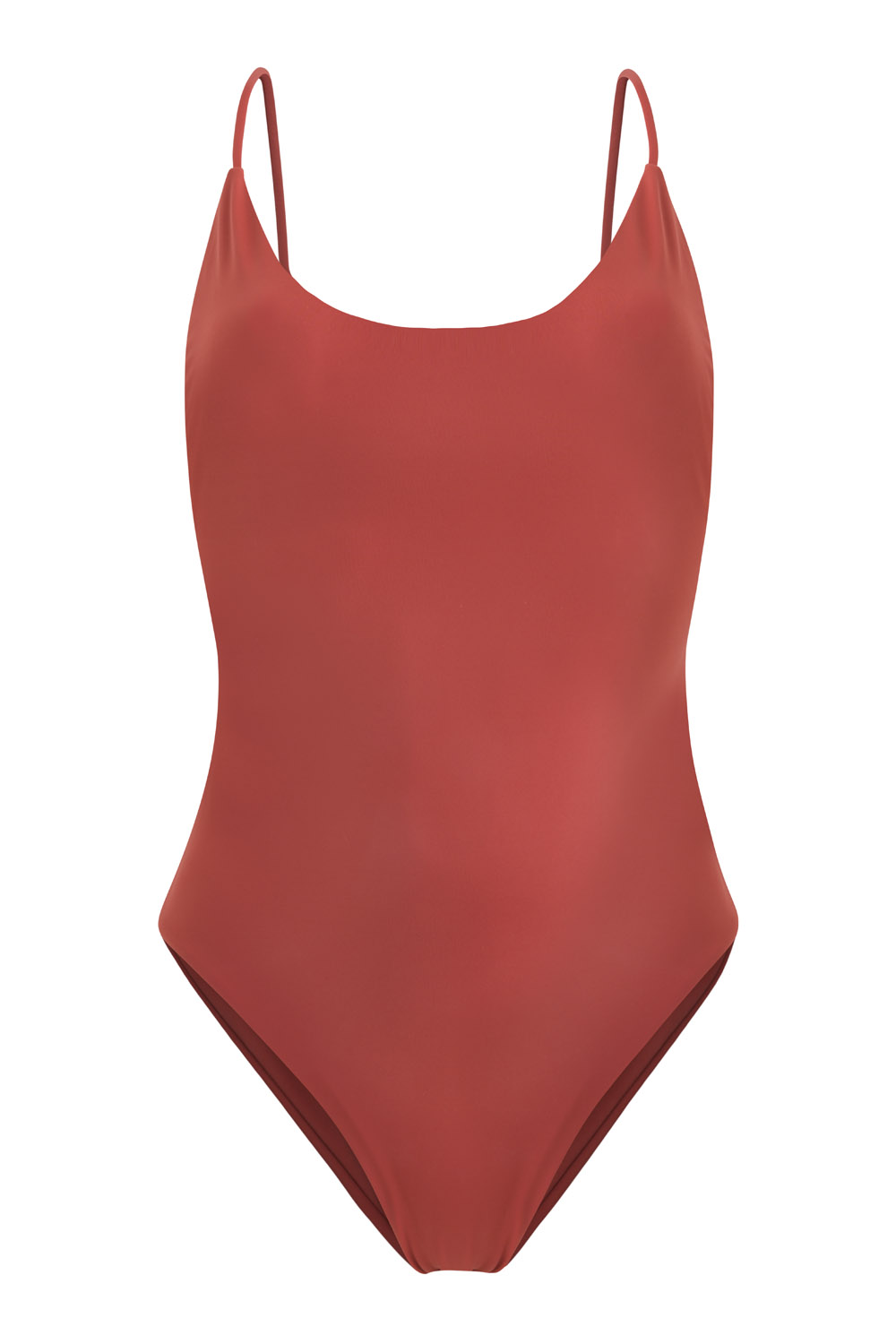 Eco sustainable swimsuit / bañador ecológico sostenible – Alona onepiece in clay, by NOW_THEN