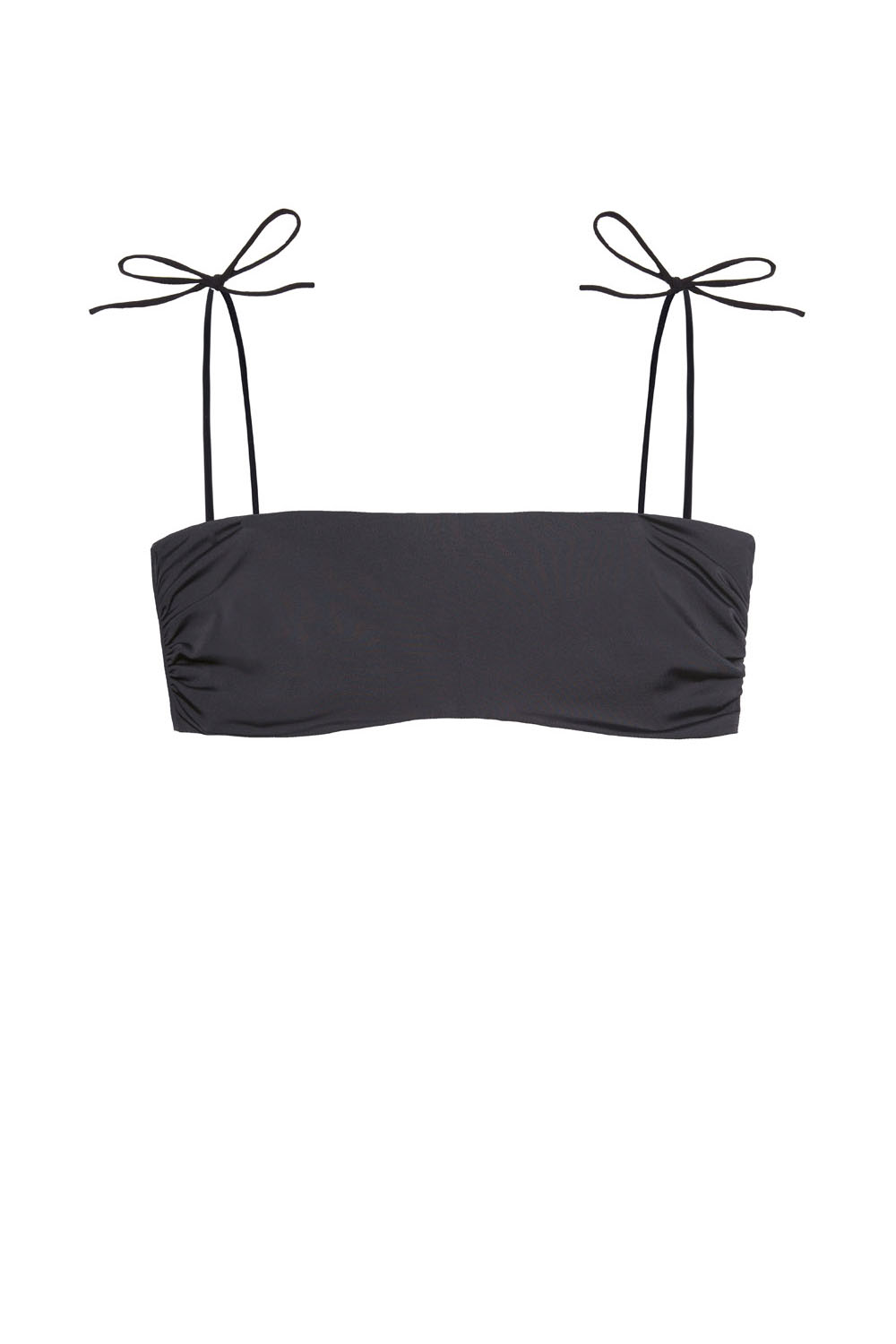 Sustainable Luxury Swimwear / Ropa de baño sostenible, eco bikini / bikini ecológico. Lio + Milos in blacksands, by NOW_THEN