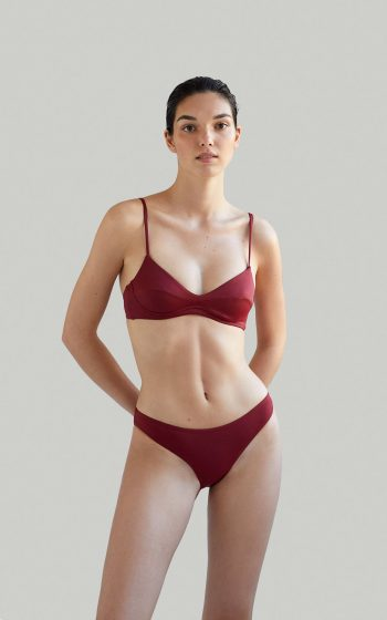 Sustainable Luxury Swimwear / Ropa de baño sostenible, eco bikini / bikini ecológico. Cayo + Entalula in porto, by NOW_THEN