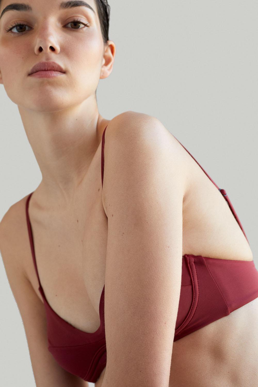 Sustainable Luxury Swimwear / Ropa de baño sostenible, eco bikini / bikini ecológico. Cayo + Entalula in porto, by NOW_THEN