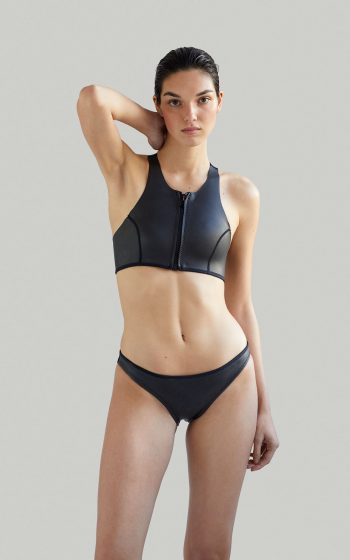 Neoprene bikini / Bikini de neopreno, Sustainable Luxury Swimwear / Ropa de baño sostenible, ecoprene surf / Margo by NOW_THEN