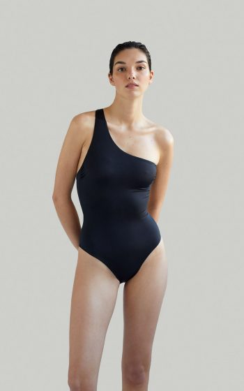 Sustainable Luxury Swimwear / Ropa de baño sostenible, onepiece swimsuit/ bañador ecológico. Sendai onepiece blacksands, econyl, NOW_THEN
