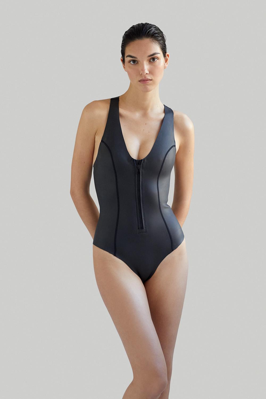 Neoprene Wetsuit Sylvia Onepiece Now Then