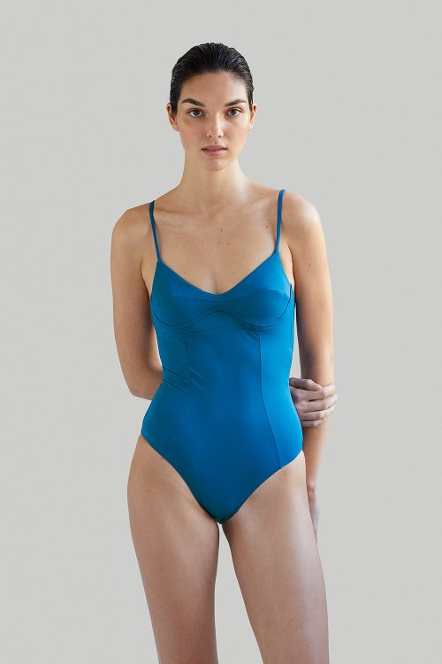 Ethical sustainable Luxury Swimwear / Ropa de baño sostenible, onepiece swimsuit/ bañador ecológico. Barton swell by NOW_THEN