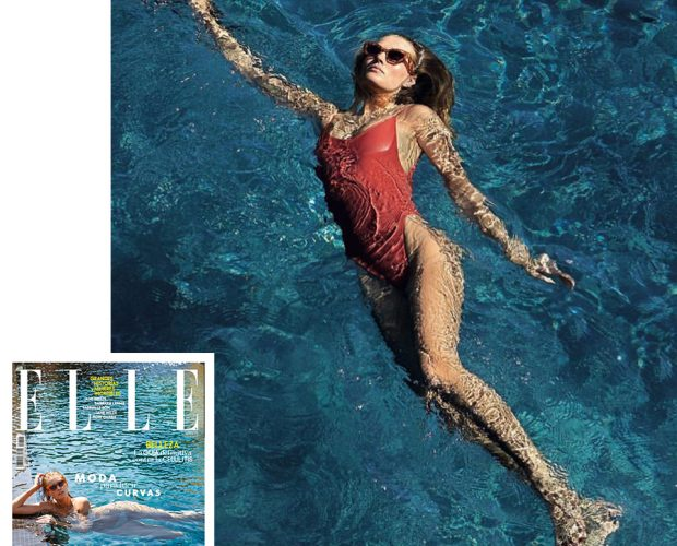 b3cb6195149 Toni Garrn in the Alona onepiece for ELLE Body Issue