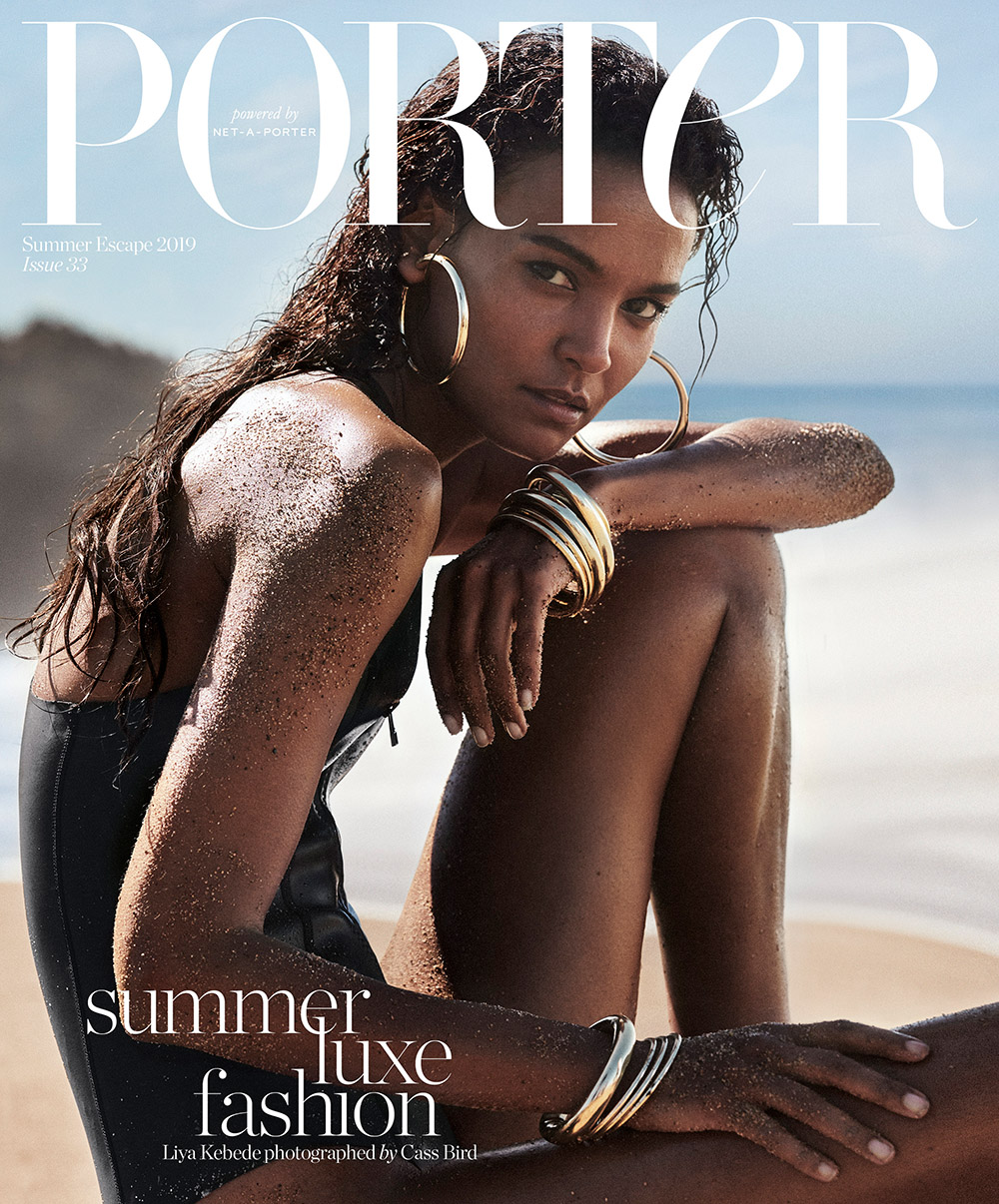 LIYA KEBEDE NOW_THEN ECO SWIMWEAR SUSTAINABLE PORTER MAGAZINE