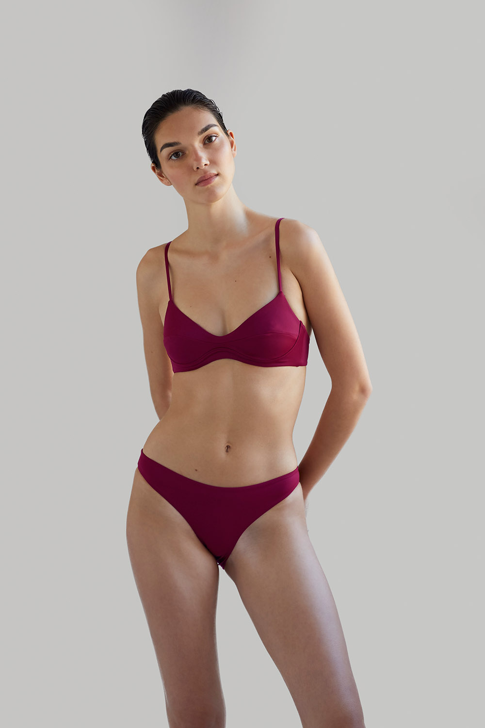 NOW_THEN Sustainable swimwear ALONA pitaya bañador reciclado ecológico