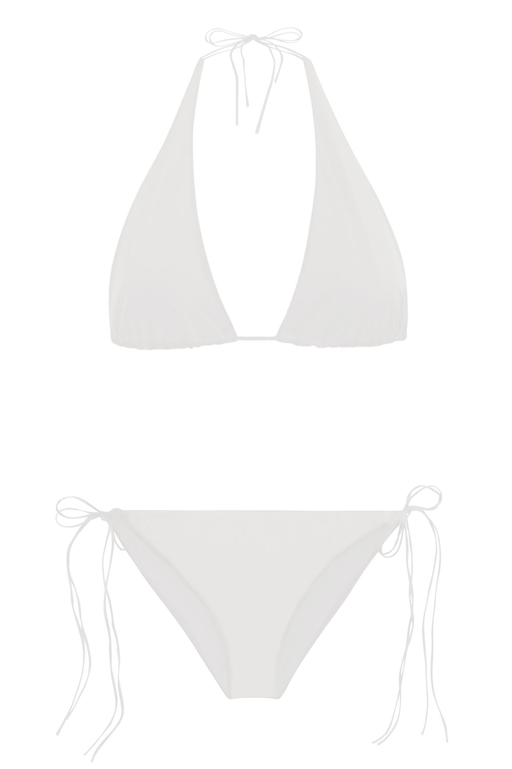 Sustainable Luxury Swimwear / Ropa de baño sostenible, eco bikini / bikini ecológico. Hermigua + St.John in shell, by NOW_THEN