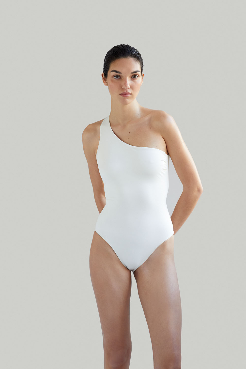 Sustainable Luxury Swimwear / Ropa de baño sostenible, onepiece swimsuit/ bañador ecológico. Sendai onepiece shell by NOW_THEN