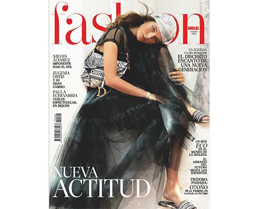 NOW THEN - La revista de moda ¡HOLA! FASHION destaca la importancia de la moda eco y nos destaca como marca comprometida con el diseño sostenible y la protección del mar.