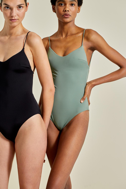 Sustainable Luxury Swimwear / Ropa de baño sostenible, onepiece swimsuit/ bañador ecológico. Aridane onepiece, econyl, NOW_THEN