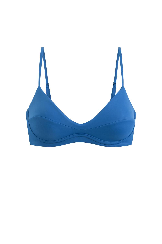 Sustainable Luxury Swimwear / Ropa de baño sostenible, eco bikini / bikini ecológico. Cayo top in pitaya, by NOW_THEN
